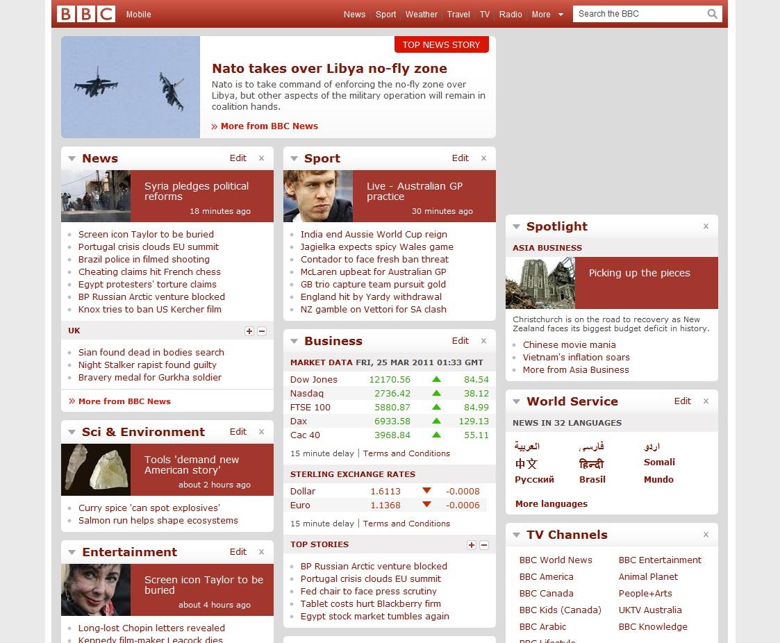 BBC . co . uk