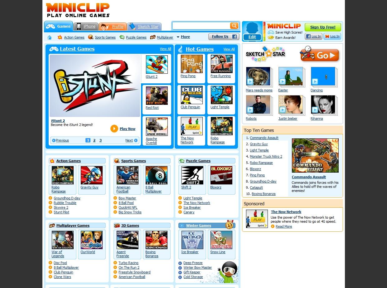 Miniclip . com · Miniclip . com. Hits 109 /. Play Free Online Games ...