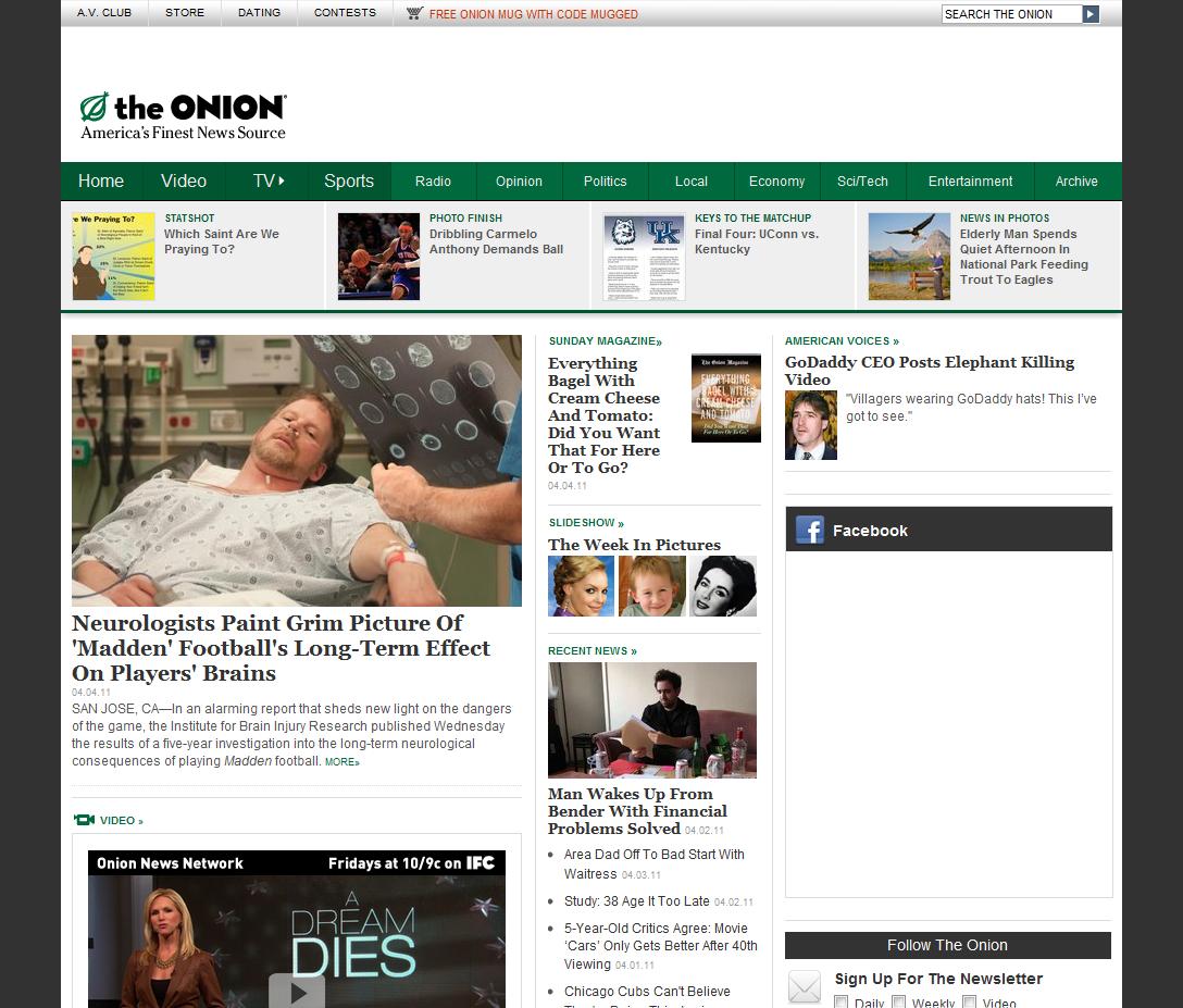 The Onion . com