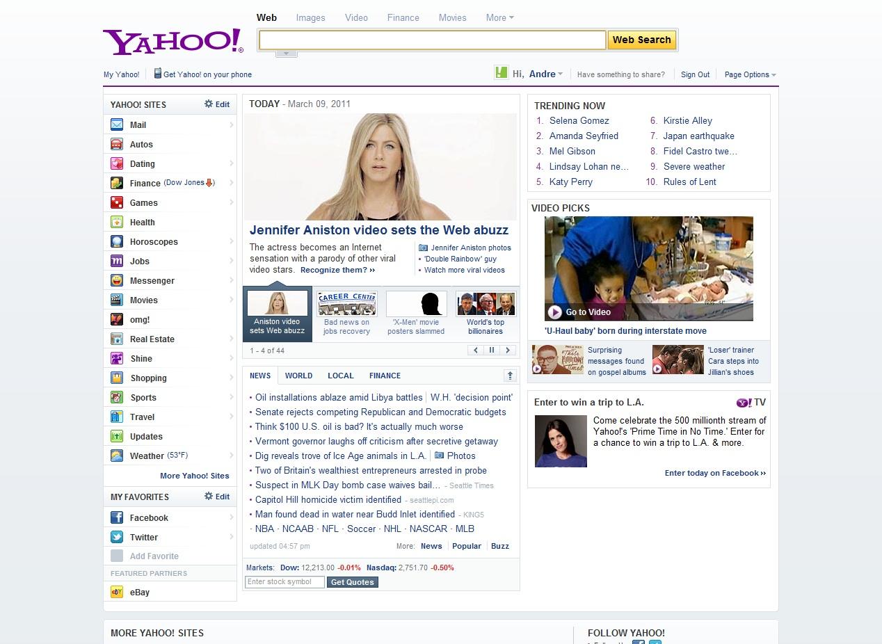 Yahoo! . com