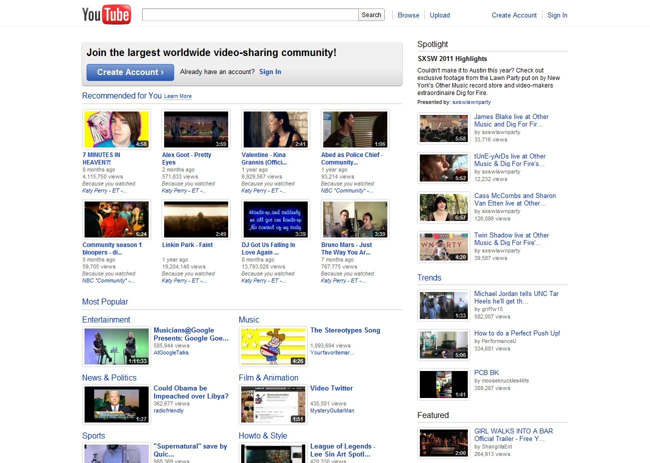 Youtube . com